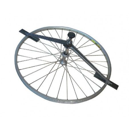 Tool for the control of the wheel camber