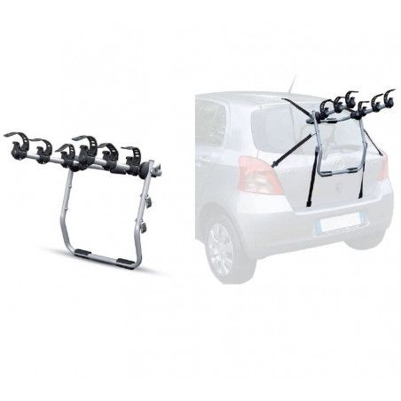 Rear bike rack for car Mistral with 3 bicycles seats