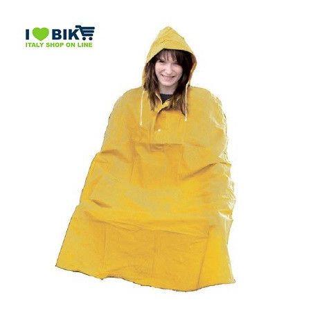 Rain Poncho for adult YELLOW