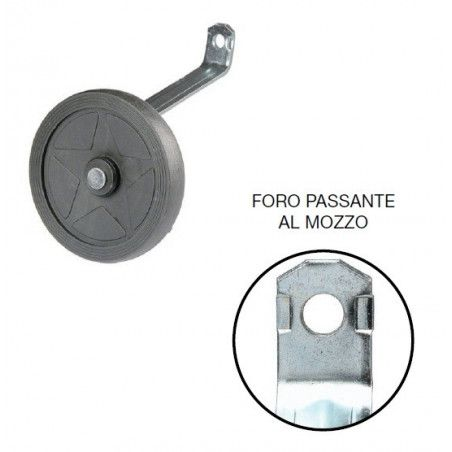 1-hole pair stabilizers gauge wheels to the hub 12