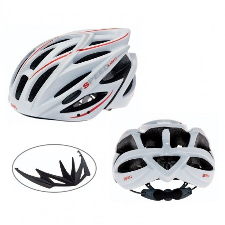 BRN Speed Light Helmet In-mold white L-XL