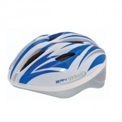 BRN Urban Helmet White / Blue ML
