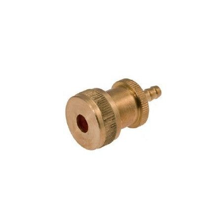 Pump connector ride big brass