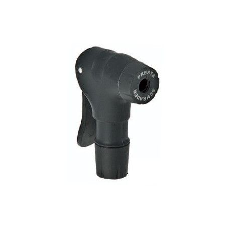 Pump connector plastic universal automatic