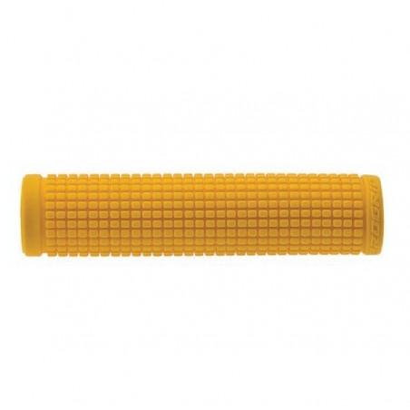 Pair knobs Tekno yellow