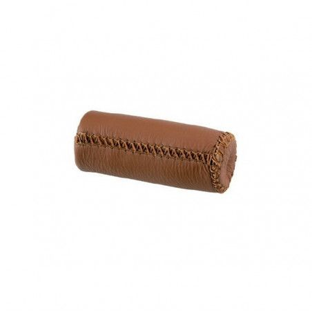 knobs Pair Leather City Grip honey