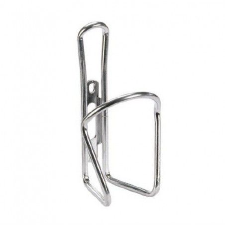 Luxury silver aluminum bottle cage