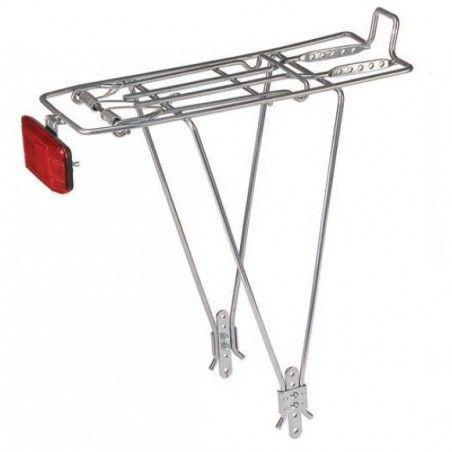 Rear rack adjustable in iron silver