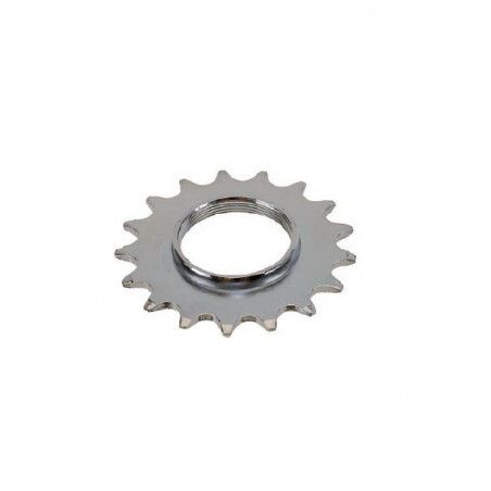 Pinion 17 teeth hub Track Chrome