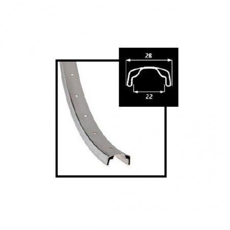 Circle chrome-plated steel 26 3/8
