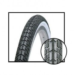 traditional tires 24 x 1.3 / 8 white / black