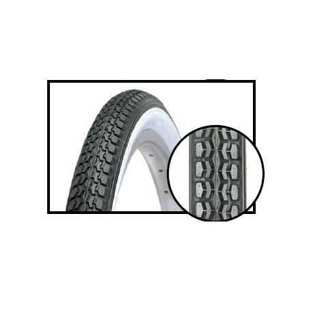 vintage tires 26 x 1.75 (47-559) black / white