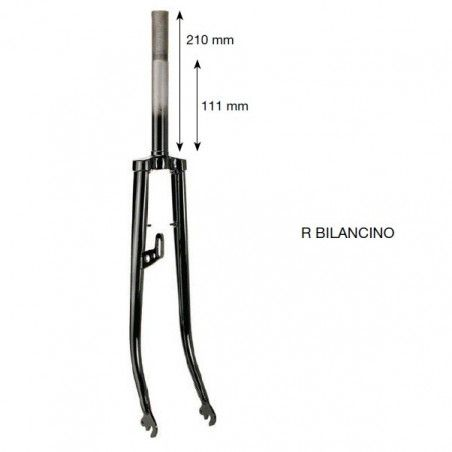 Fork R 26 painted black sling