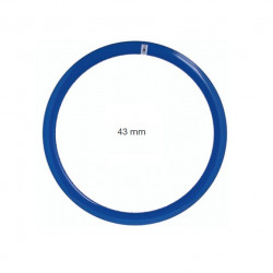 Circle in allumnio Fixed 36 holes blue - profile 43 mm