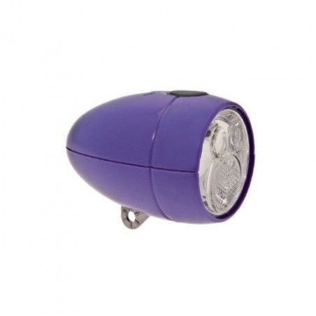 Simply Vintage lantern battery with 2 Super Led purple
