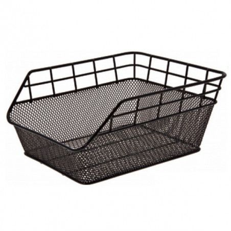 Rear basket in retina black Trandy