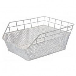 Rear Basket in retina white Trendy