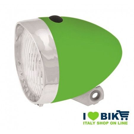 Vintage LED Headlight green
