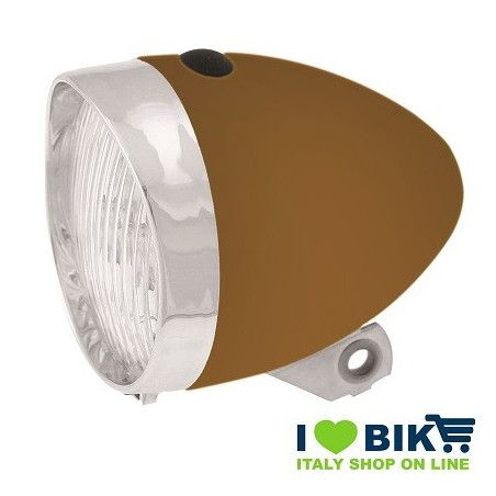Vintage LED Headlight brown