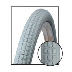 Tire wheelchairs for the disabled 24x1.3/8 gray