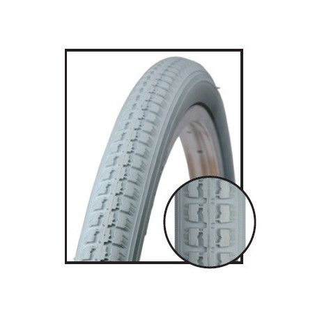 Tire wheelchairs for the disabled 22 x 1. 3/8 gray