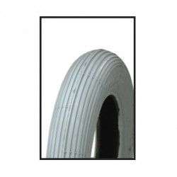 Tire wheelchairs for the disabled 8 x 1. 1/4 gray