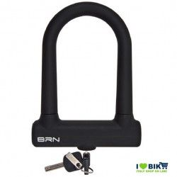 Padlock Bike Lock Fixed silicone black