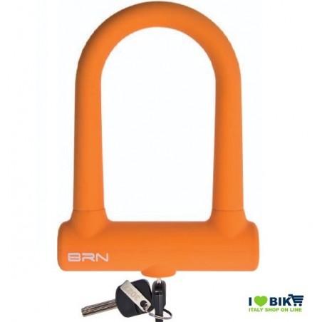 Padlock Bike Lock Fixed orange