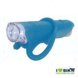 FA30B luce Fanale blu silicone colorato anteriore per bici super led bianco accessori bici vendita on line