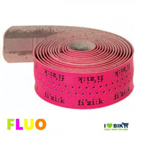 NA40L Nastro rosa fuxia fluorescente fluo manubrio per bicicletta corsa Fizik logo Yellow Fluo accessori e ricambi on line