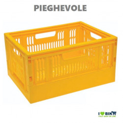 Summer folding basket yellow