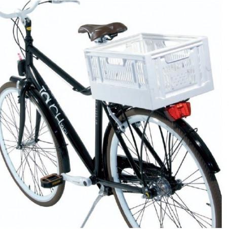 CE06V Cesto Cassetta pieghevole in plastica verde accessori e ricambi bici negozio bici on line