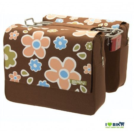 Bags tail brown flowers