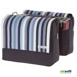 Rear bags with blue stripes