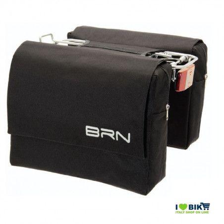 BO60N Borse posteriore bicicletta nera accessori e ricambi bici negozio bici on line