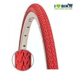 Bike fixed tire 700 x 24 red