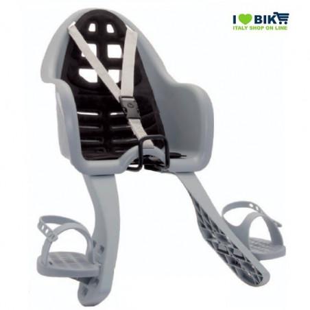 SEG48S seggiolino bimbo grigio con scarpette ufo per bici nero accessori e ricambi on line ilovebike