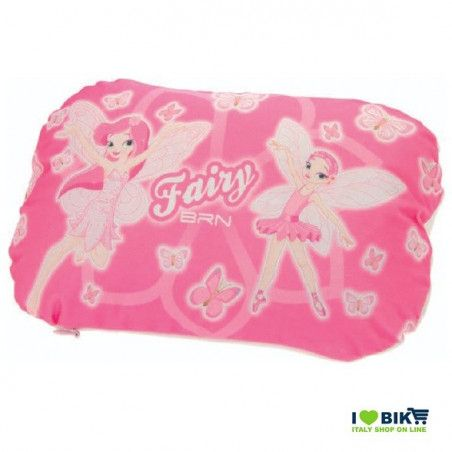 Pillow padded to the handlebar fairy pink
