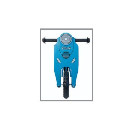 Bicycle without pedals blue