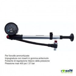 Pump for suspension forks