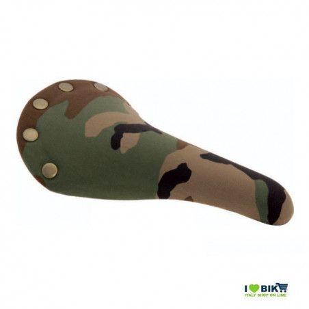 SE210T Sella per bici Fixed Mtb mimetica camouflage scatto fisso single speed accessori e ricambi on line