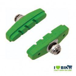 Fixed brake pads green
