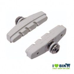 Fixed brake pads white