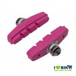PAT60P pattini per freni bicicletta colorati rosa accessori e ricambi on line bici fixed colorati su ilovebike