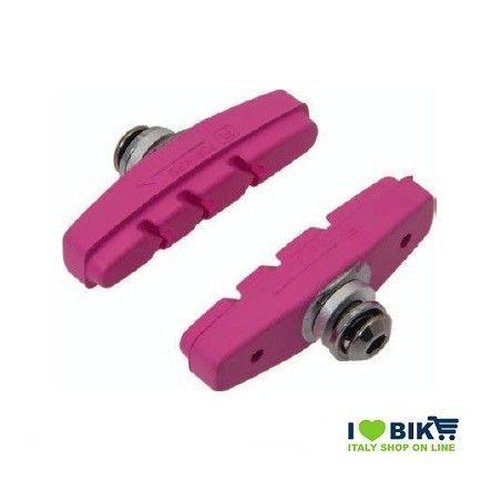 PAT60P pattini per freni bicicletta colorati rosa accessori e ricambi on line bici fixed colorati su ilovebike