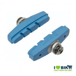 Fixed brake pads blue