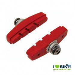 PAT60R pattini per freni bicicletta colorati rosso accessori e ricambi on line bici fixed colorati su ilovebike