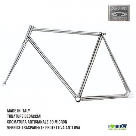 TE01C XX restro telaio bici fixed cromato per bicicletta accessori e ricambi on line i love bike shop