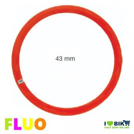Fixed FLUO circle 36 holes orange