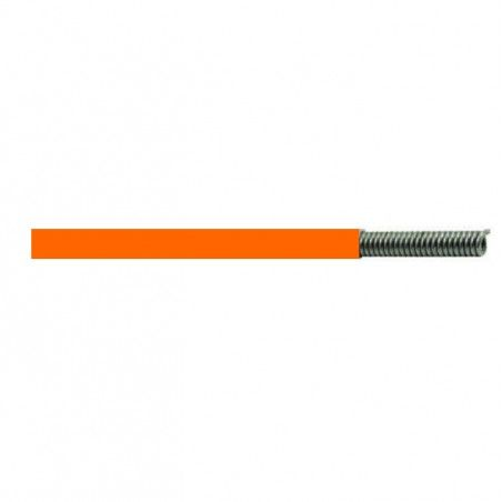 Cable for shifting system 4mm orange 1 meter